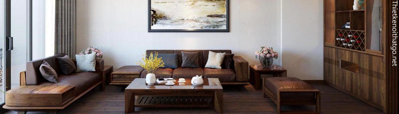 Banner nội thất gỗ óc chó cao cấp - NTG Design