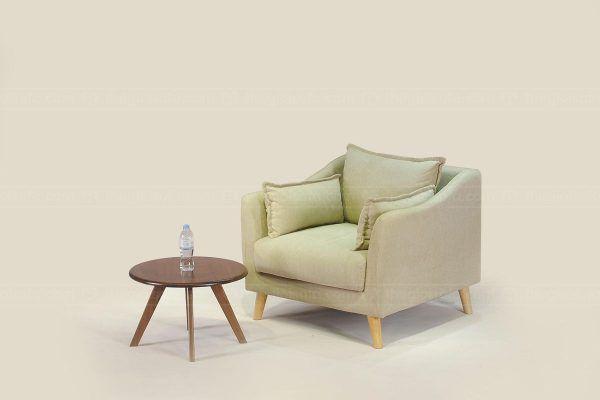 Ghế sofa đơn hiện đại SD27 với kiểu dáng đơn giản cho phòng ngủ