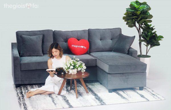 Sofa góc là lựa chọn hoàn hảo cho phòng có diên tích 15-25m2